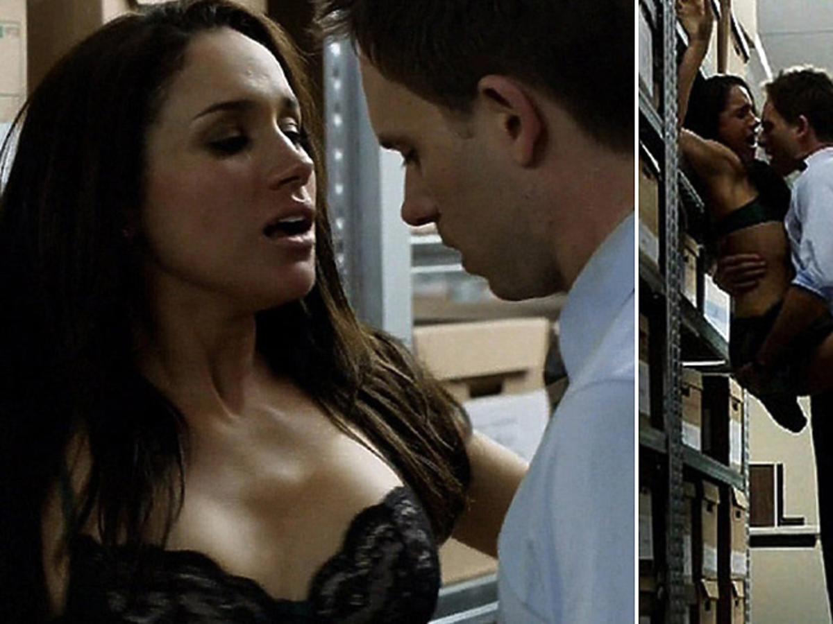 Meghan Markle w gorących scenach w serialu The Suits