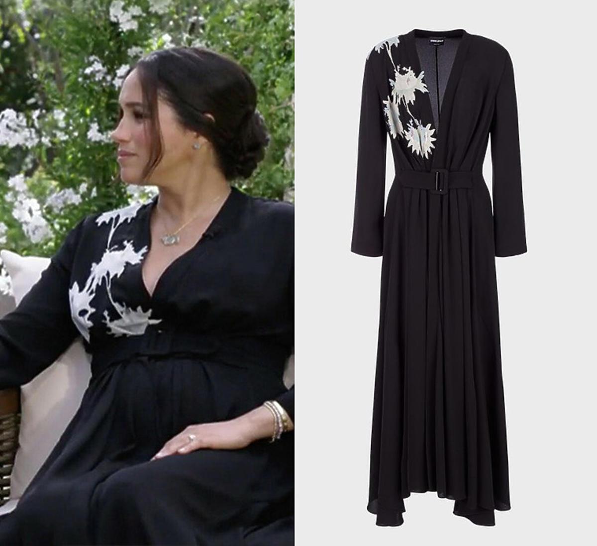Meghan Markle w sukience Armaniego za 13 tys. zł