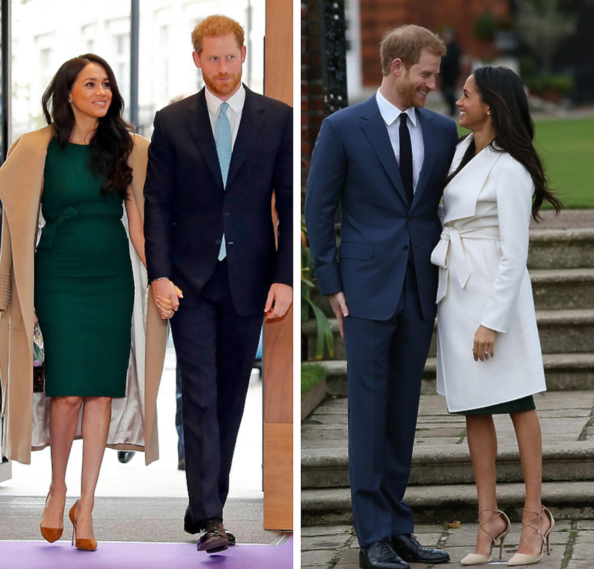 Meghan Markle w tej samej sukience