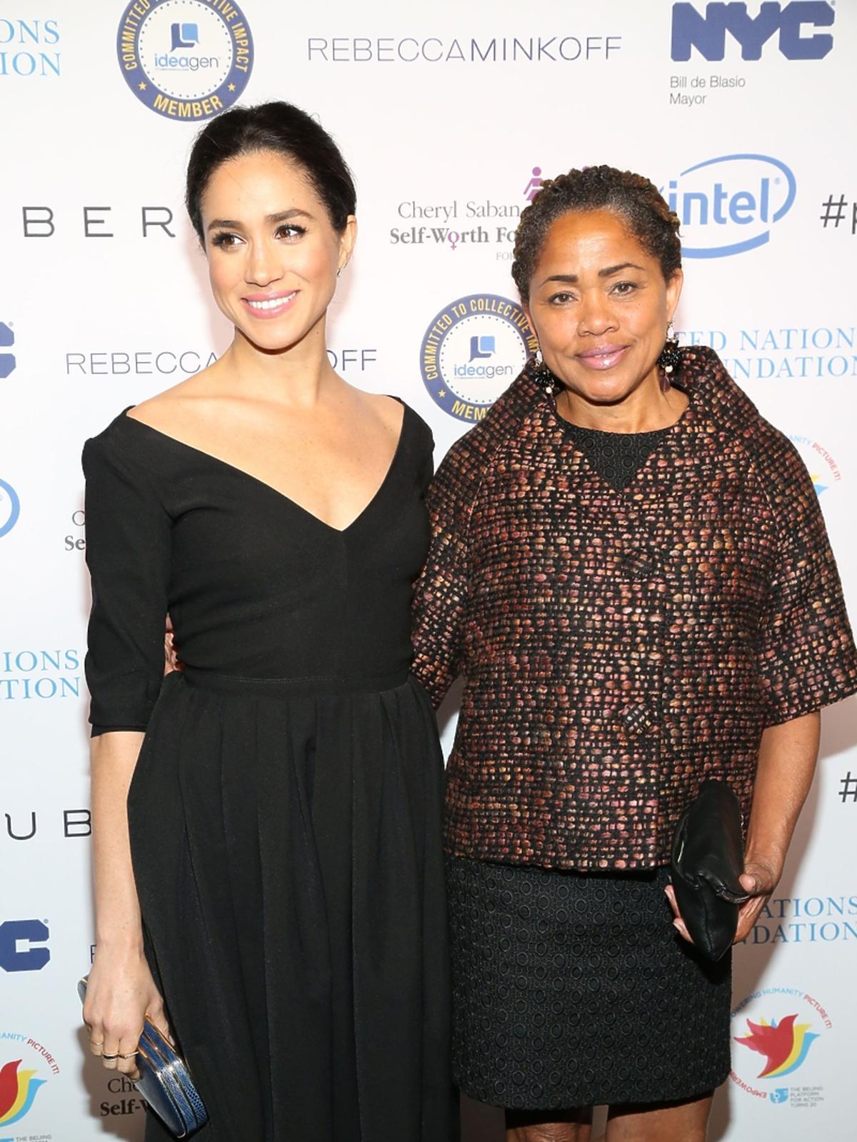 Meghan Markle z mamą