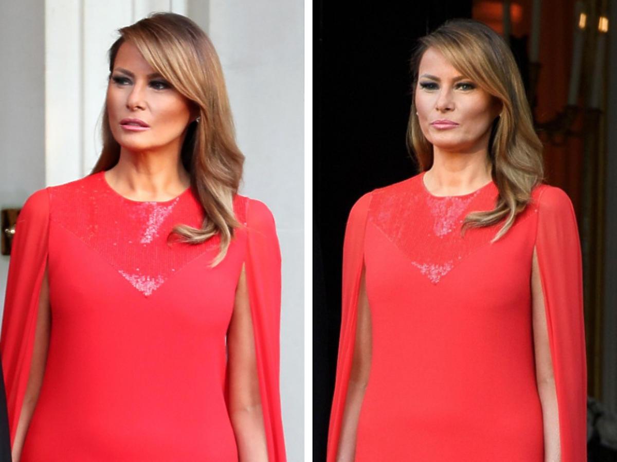 Melania Trump  biżuteria