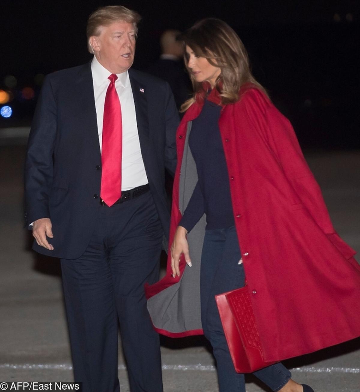 Melania Trump, Donald Trump na Florydzie
