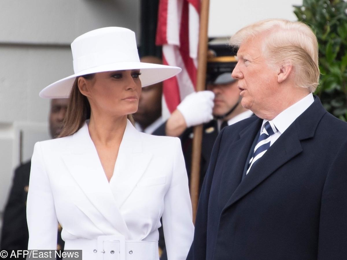 Melania Trump i Donald Trump w Waszyngtonie