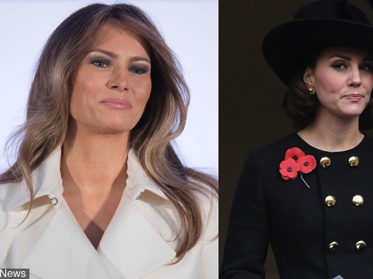 Melania Trump, księżna Kate