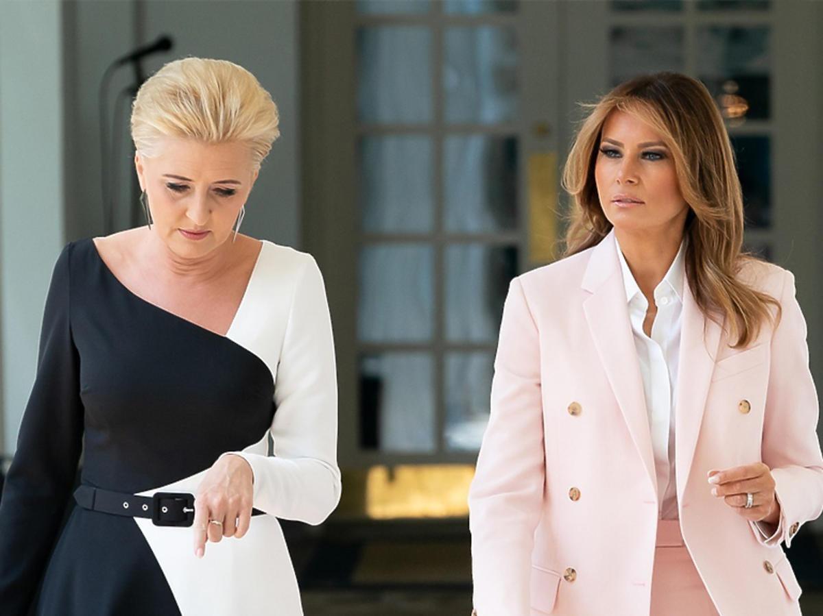Melania Trump o Agacie Dudzie