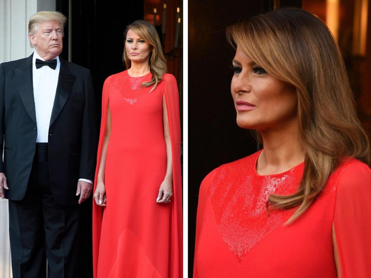 Melania Trump  z Donaldem