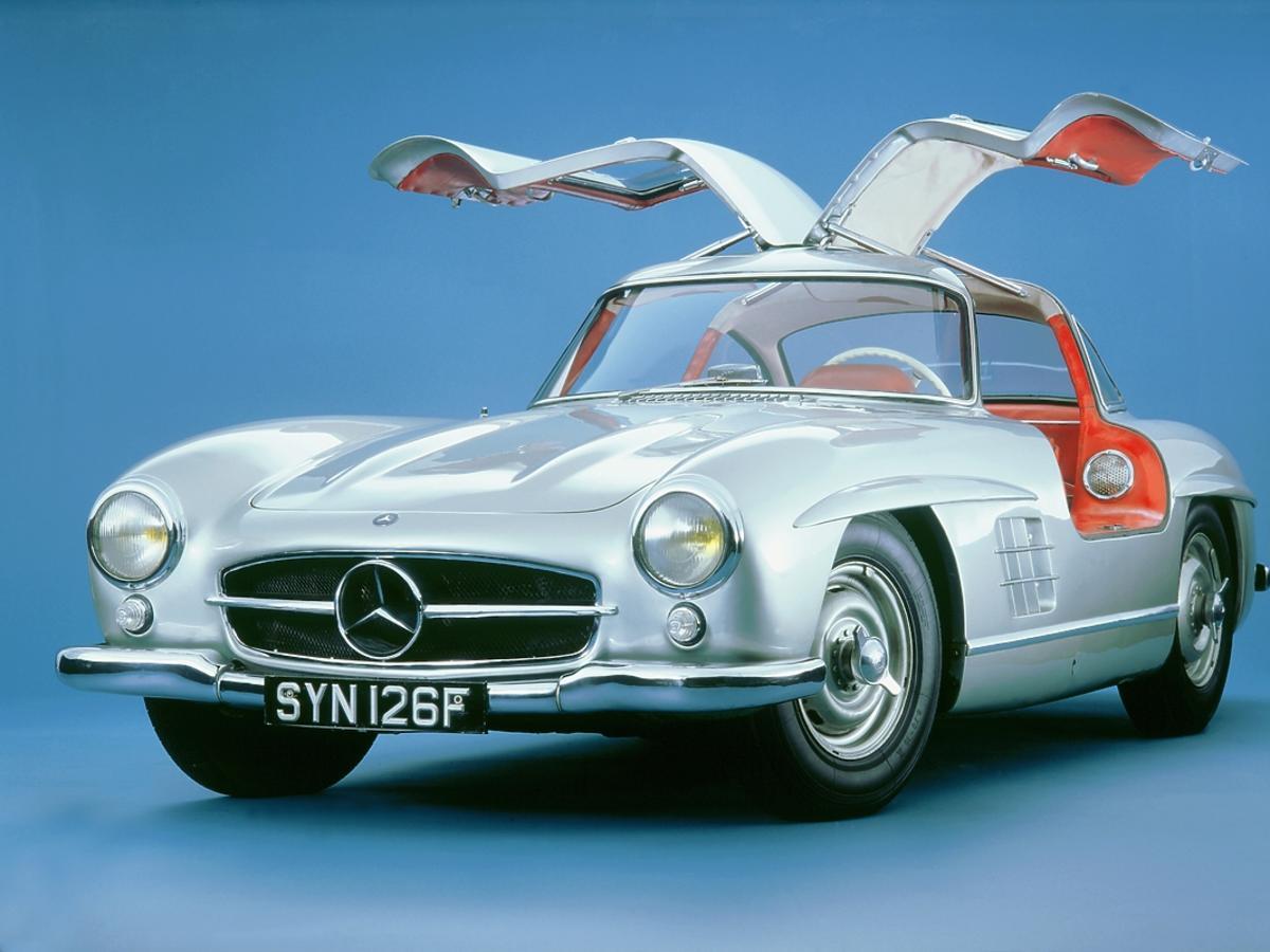 Mercedes 300 sl coupe