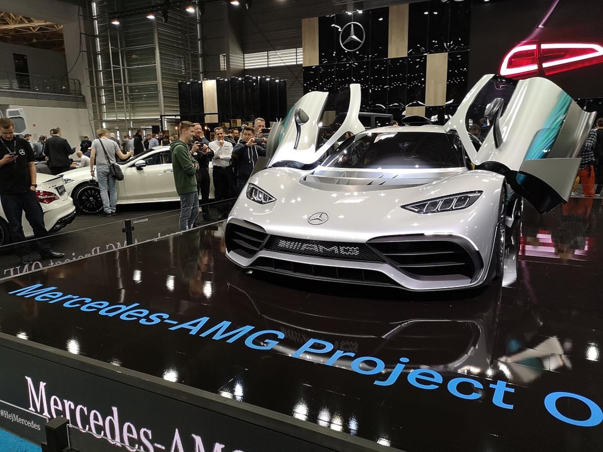 Mercedes na Poznań Motor Show 2018