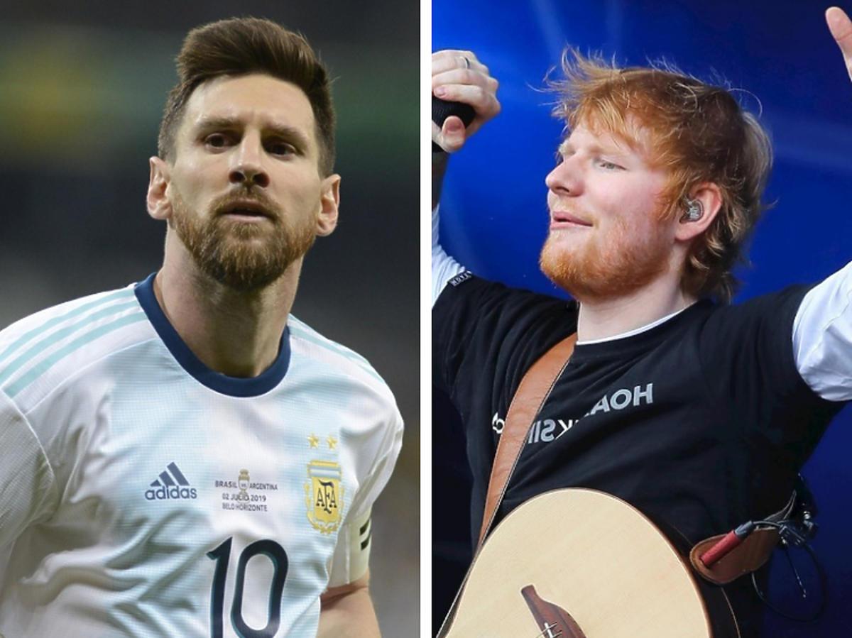 Messi i Ed Sheeran na liście Forebsa