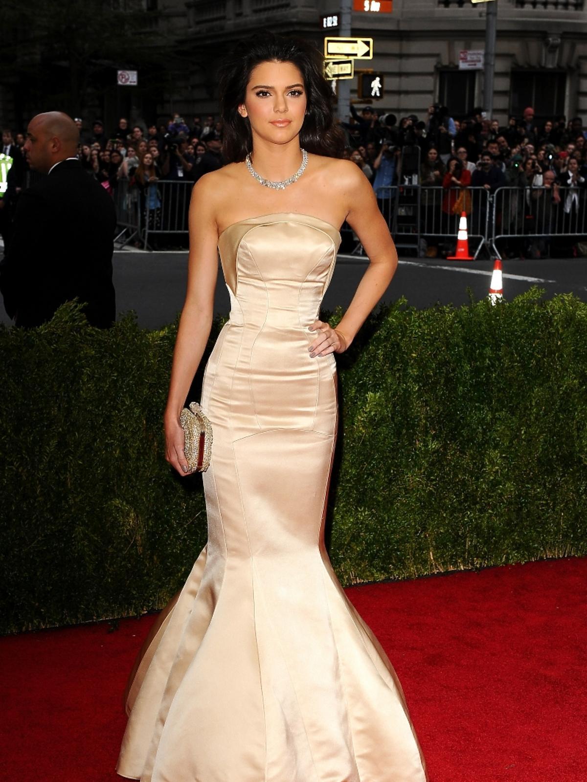 MET Gala 2014: Kendall Jenner w sukience Lanvin
