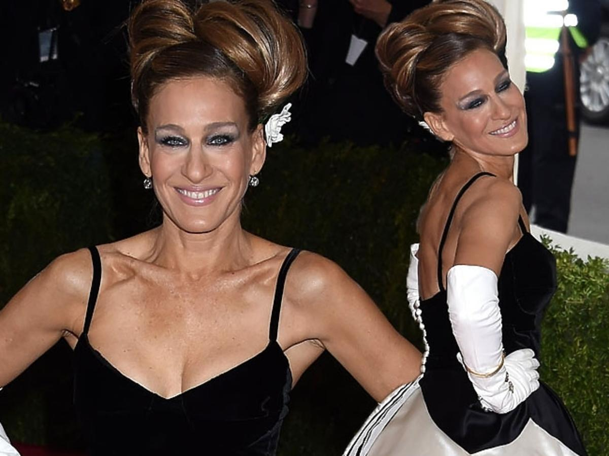 MET Gala 2014: Sarah Jessica Parker w sukni Oscara de la Renty