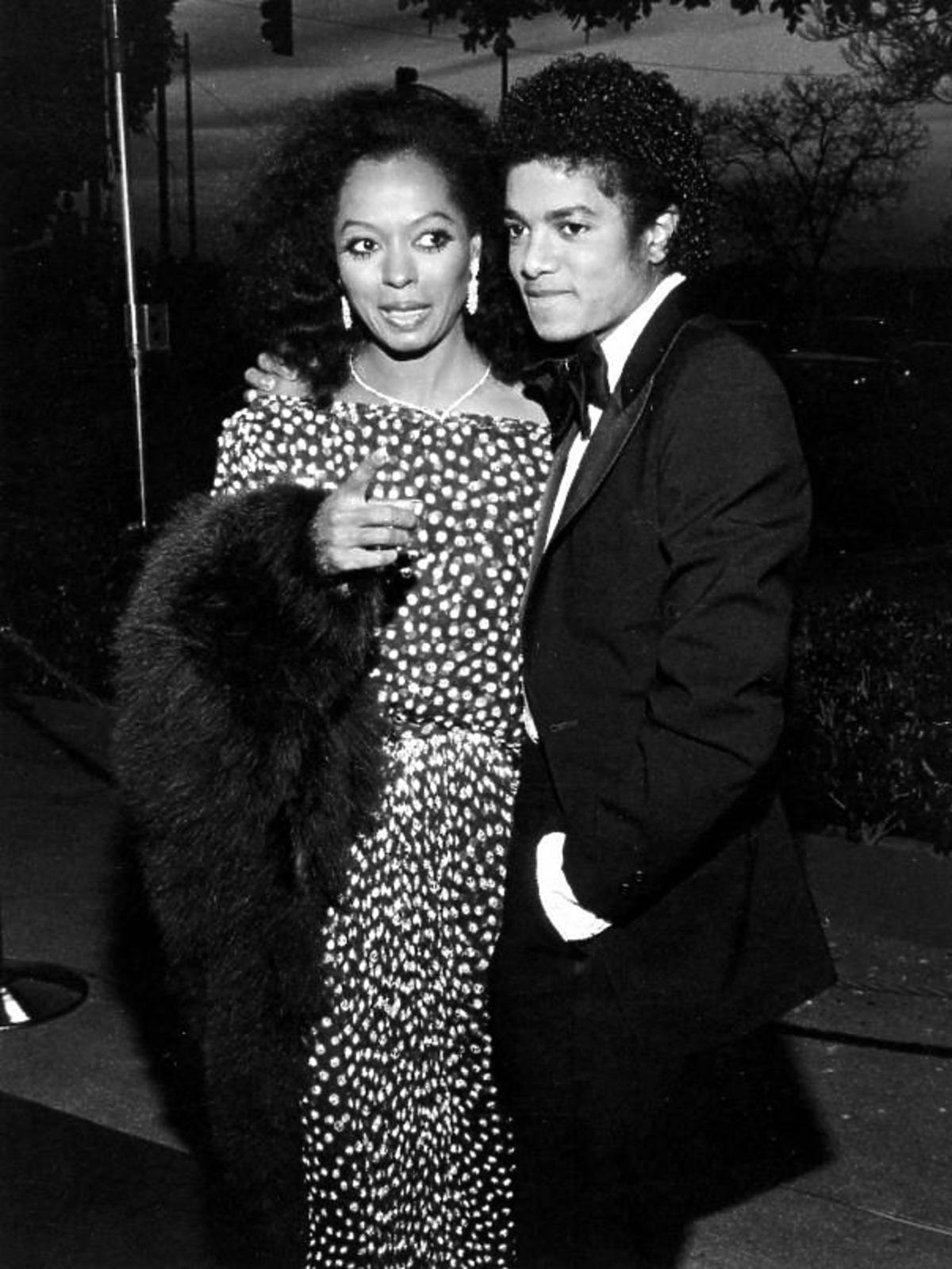 Michael Jackson, Diana Ross
