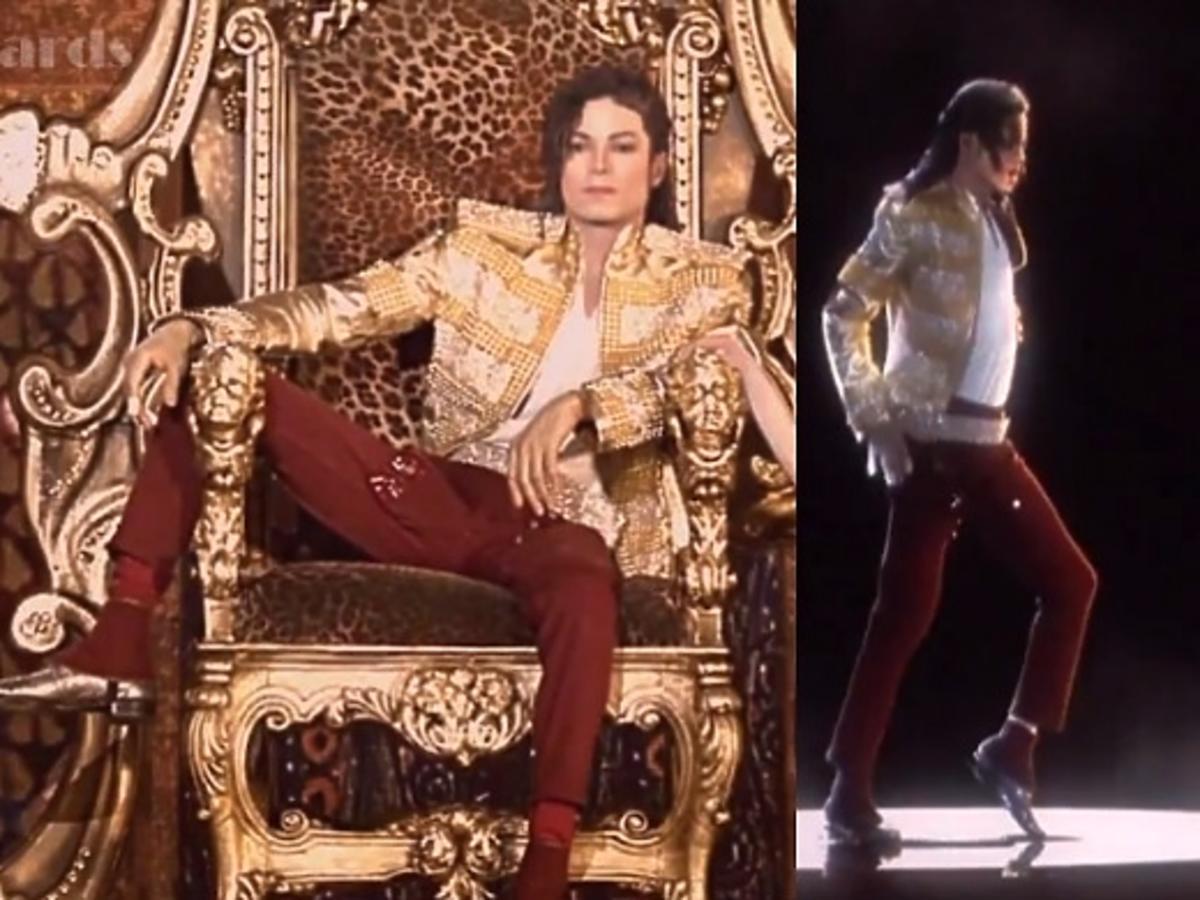 Michael Jackson na gali Billboard Music Awards