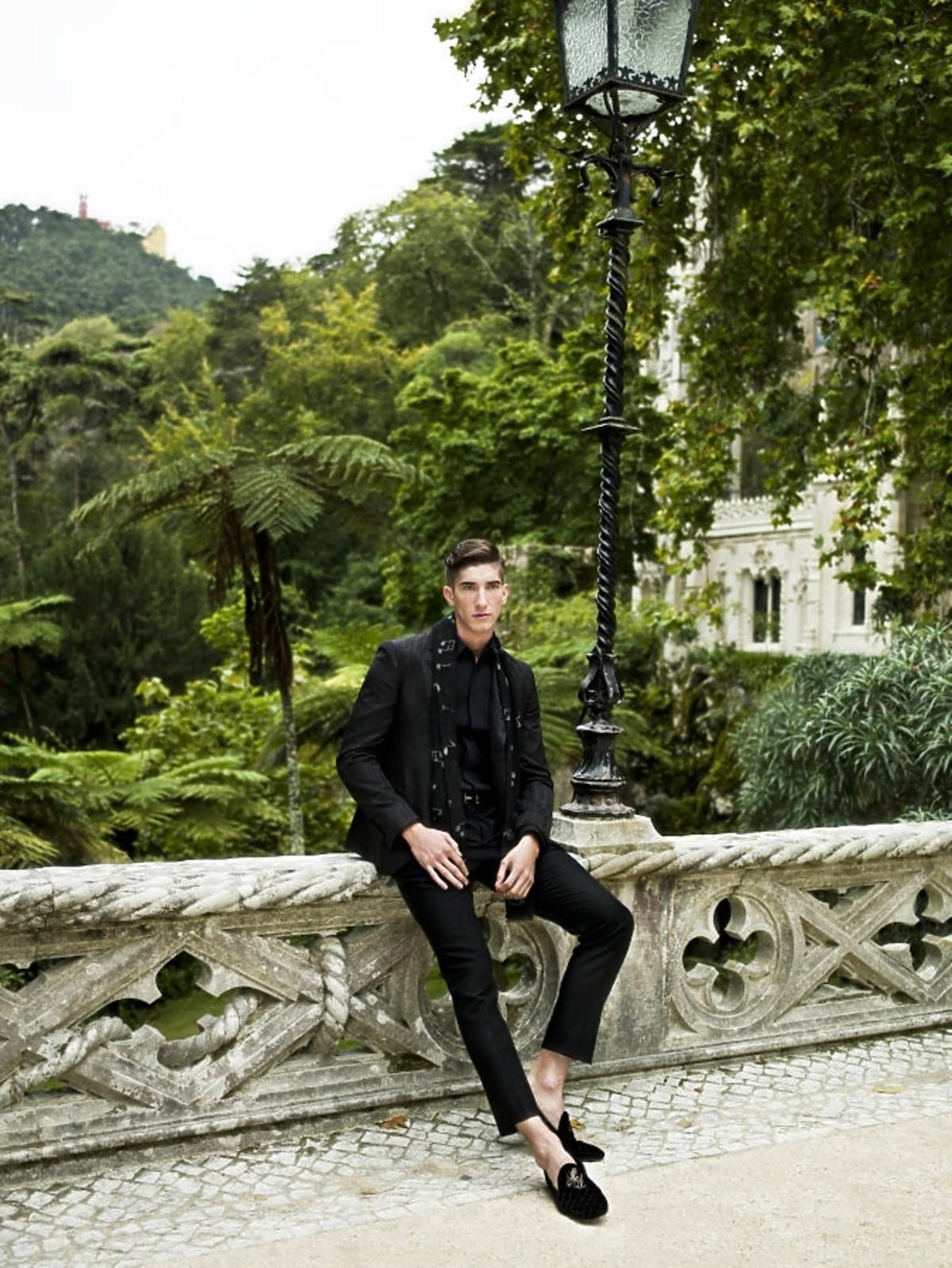 Michał Baryza w sesji Top Model