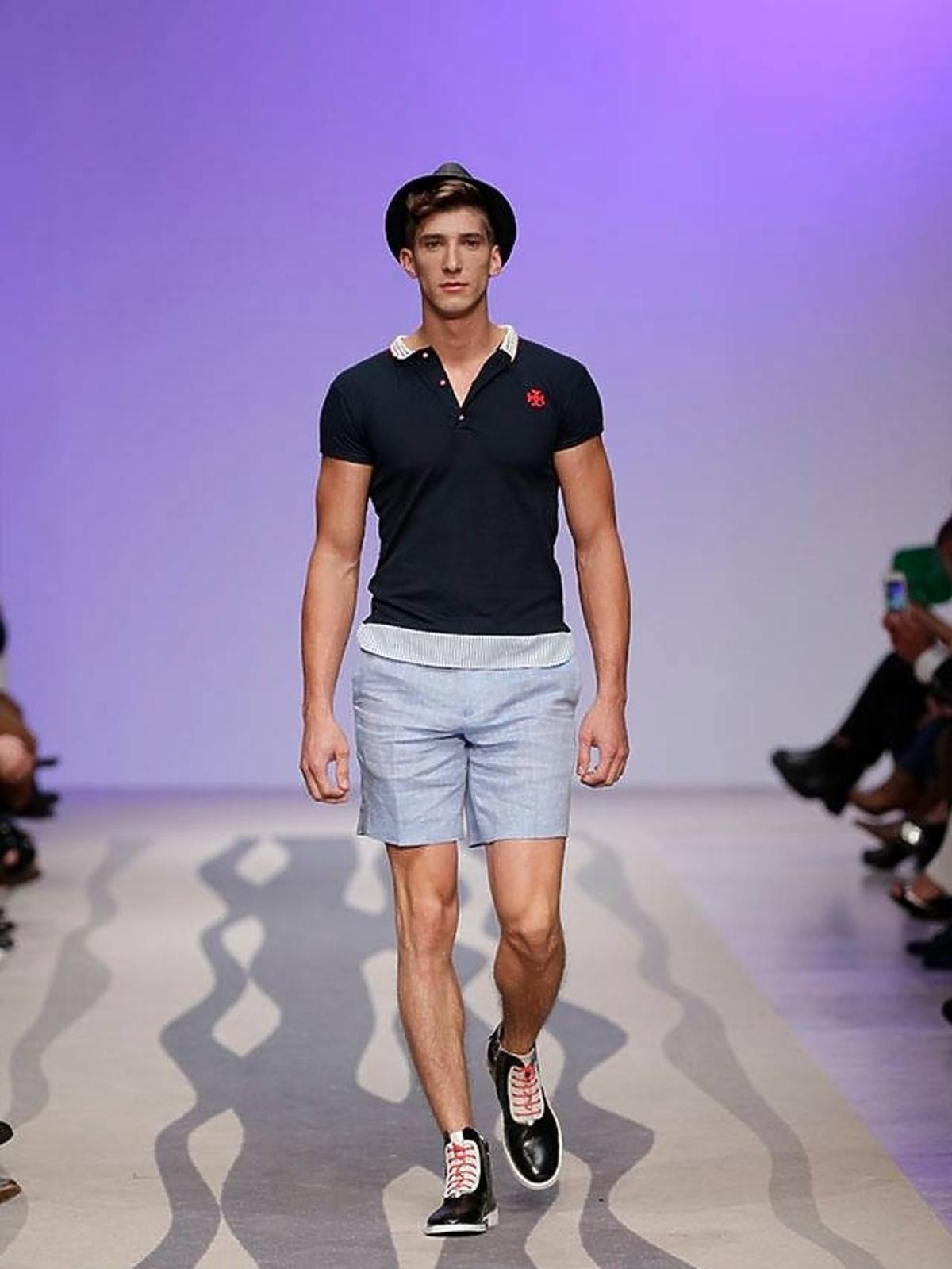 Michał Baryza z Top Model na Fashion Weeku w Lizbonie