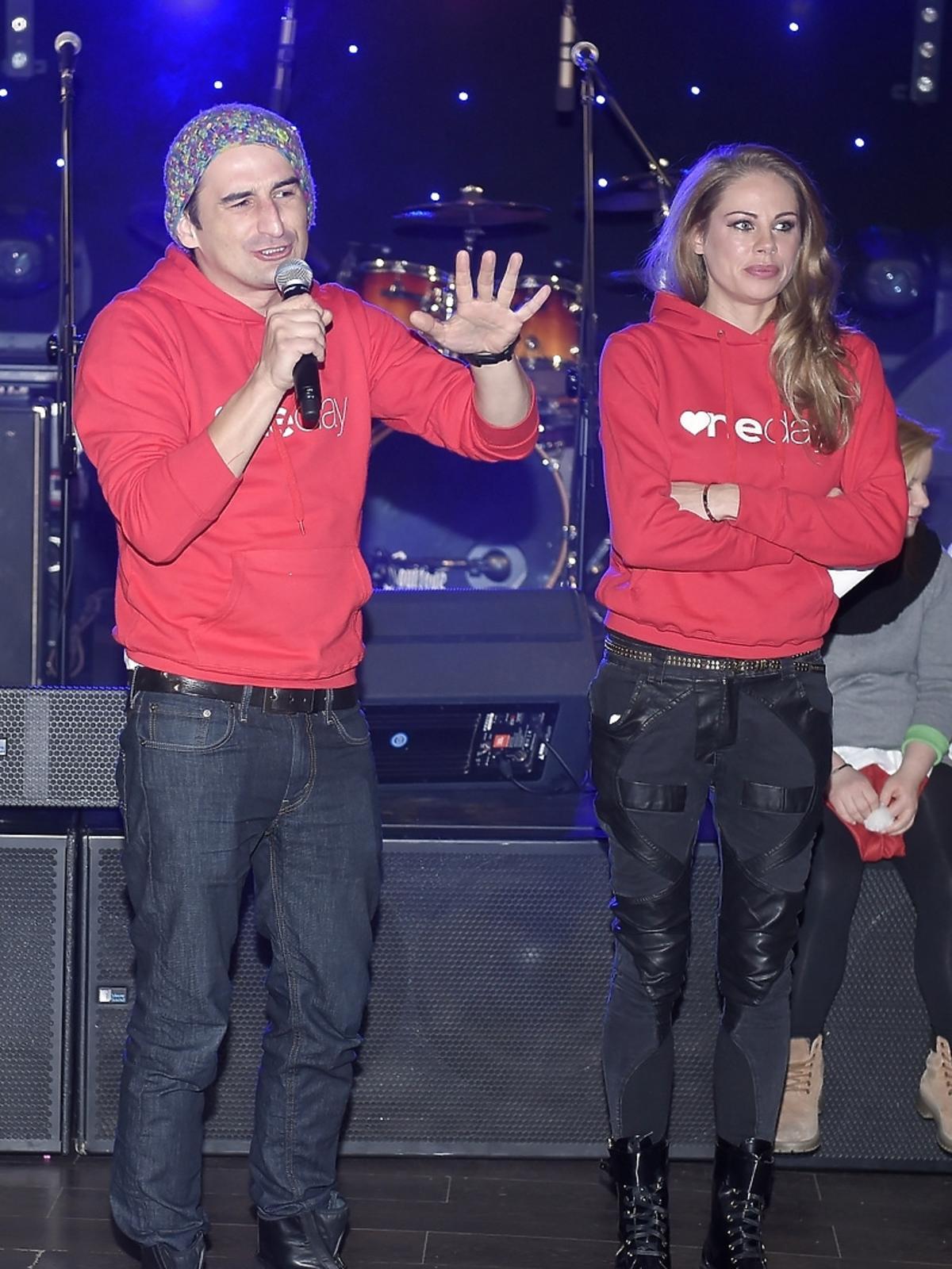 Michał Koterski i Magda Modra na imprezie charytatywnej fundacji One Day