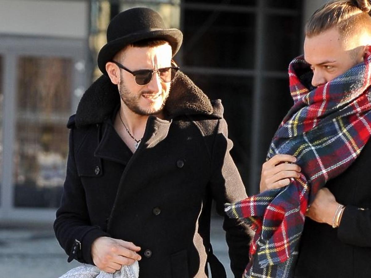 Michał Kwiatkowski w kapeluszu