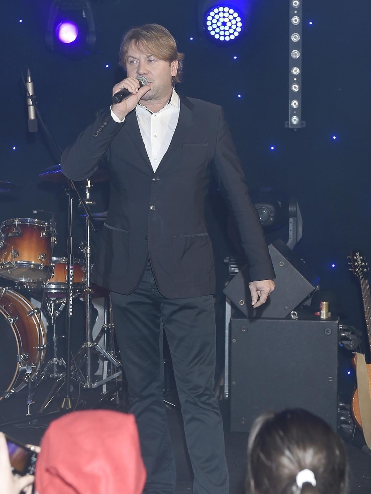 Michał Milowicz na imprezie charytatywnej fundacji One Day