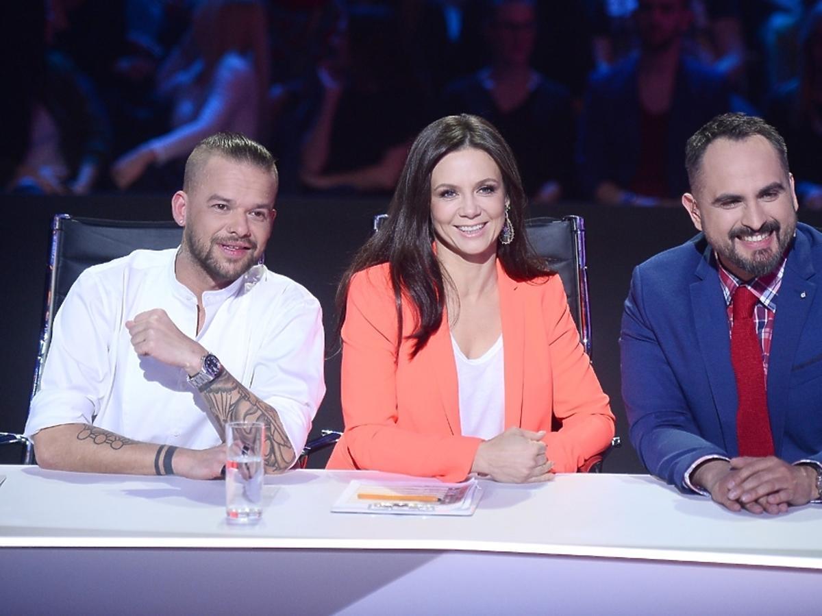 Michał Piróg, Kinga Rusin i Agustin Egurolla w programie