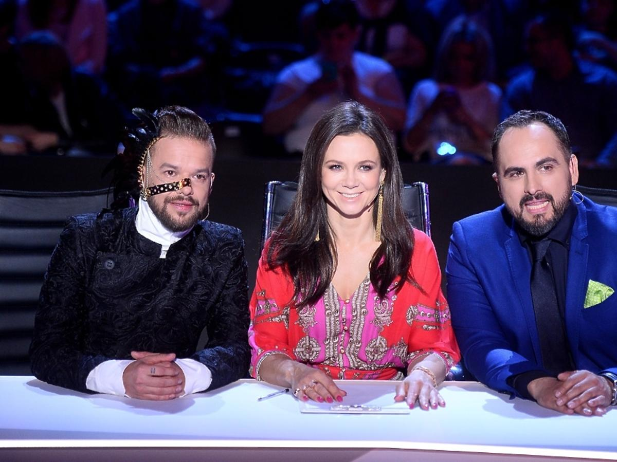 Michał Piróg, Kinga Rusin i Agustin Egurrolla w finale You Can Dance