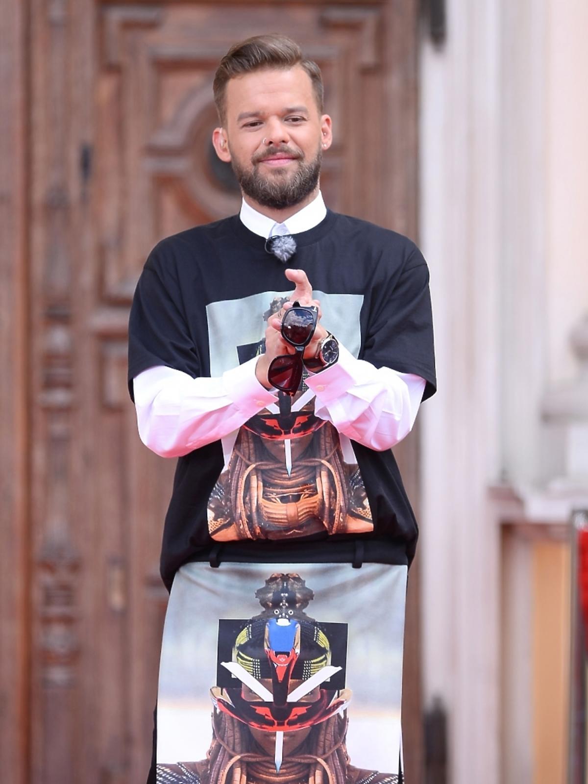 Michał Piróg na castingu Top Model 4 w Warszawie