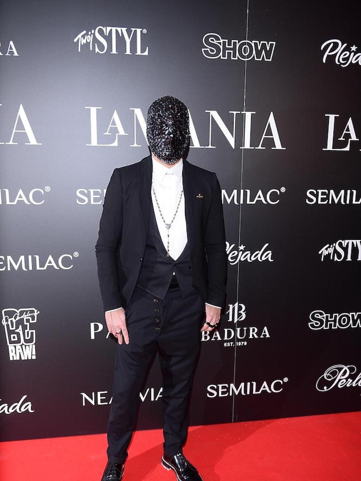 Michal Piróg na imprezie La Manii