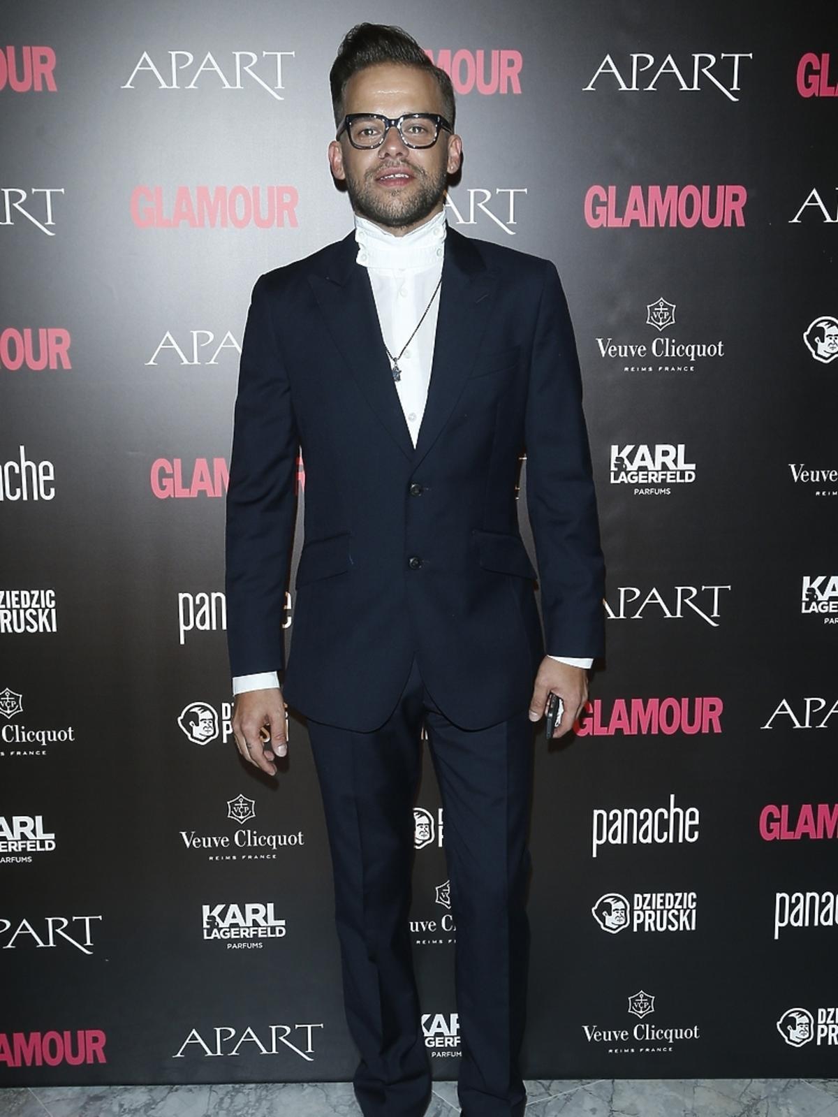 Michał Piróg na Kobieta Roku Glamour 2014