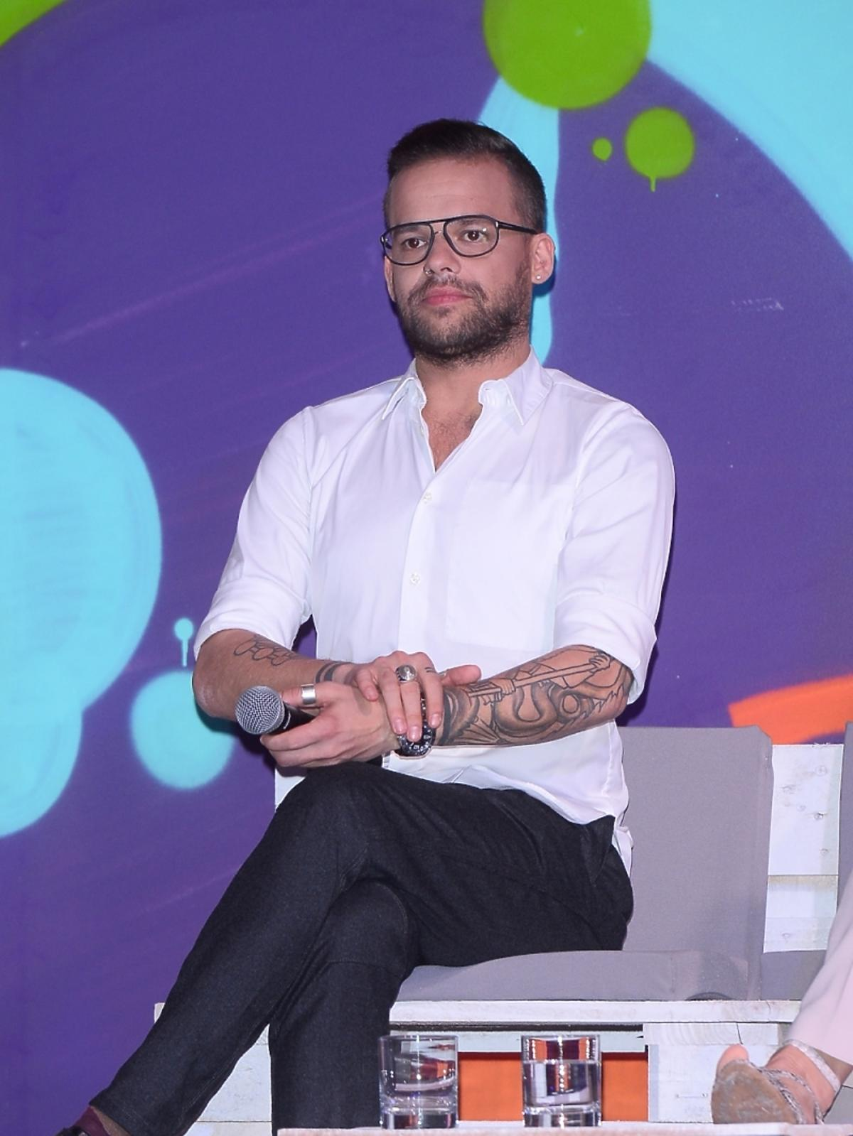 Michał Piróg na konferencji You Can Dance
