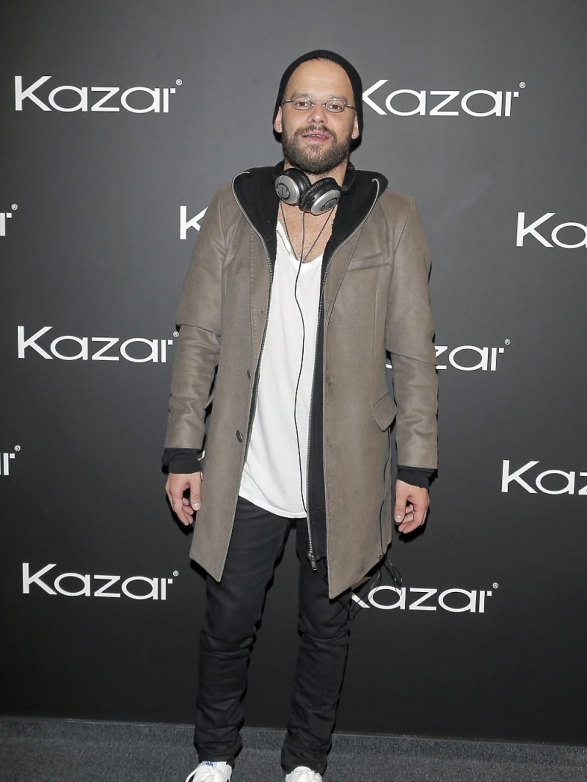 Michał Piróg na prezentacji butów Kazar