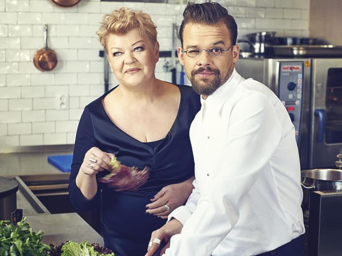 Michał Piróg z mamą Anną
