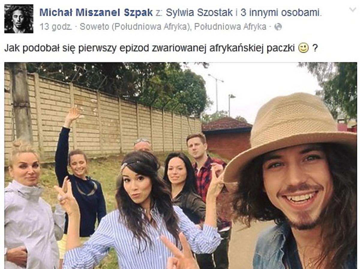 Michał Szpak pokazał zdjęcia z planu Agenta