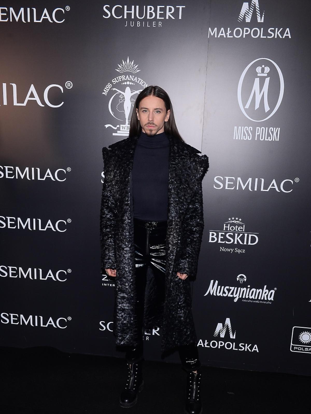 Michał Szpak zachwycił swoim występem na gali Mister Supranational