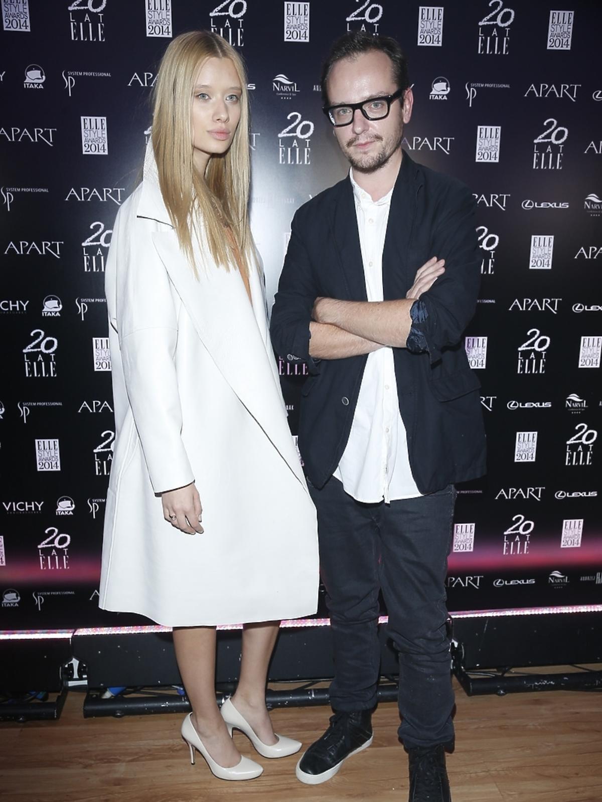 Michał Szulc na Elle Style Awards 2014