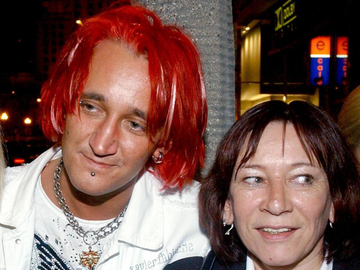 Michał Wiśniewski z mamą