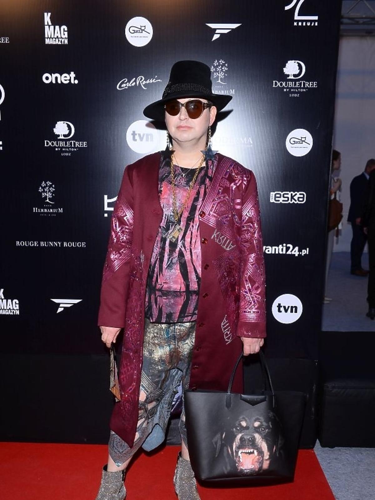 Michał Witkowski na Fashion Week w Łodzi