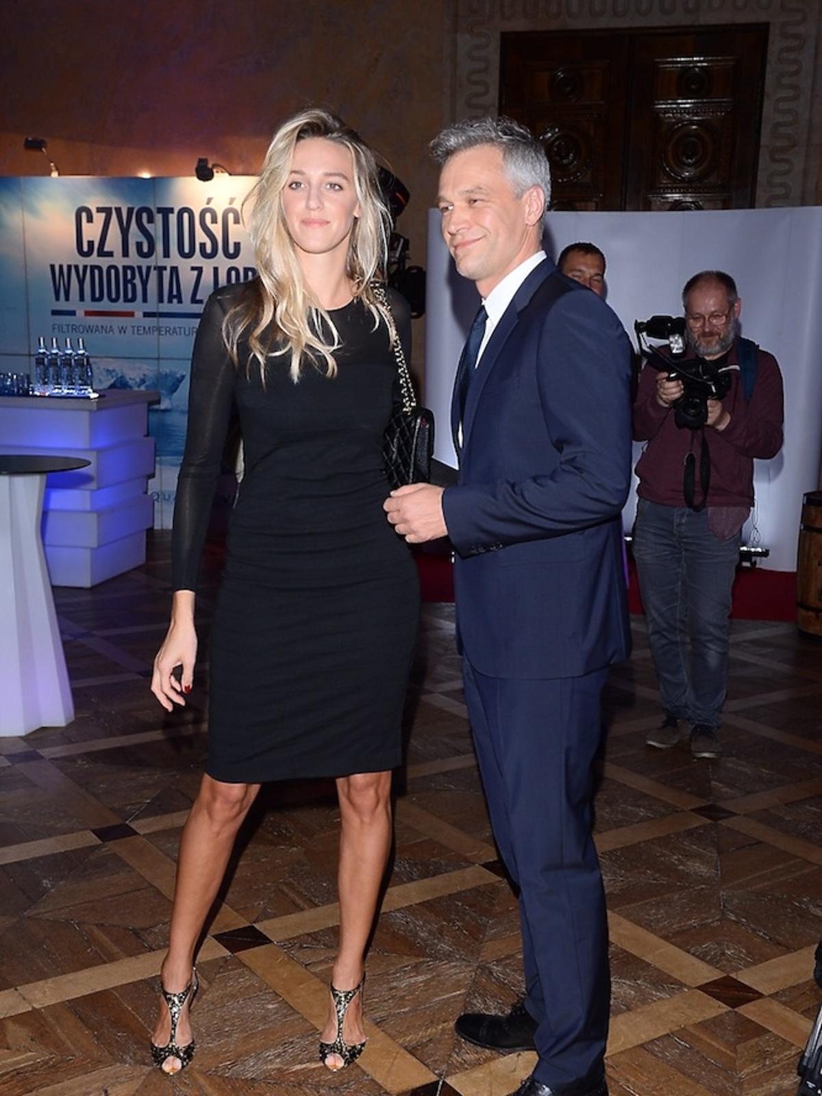 Michał Żebrowski i Aleksandra Żebrowska na Nagrody Fashion Magazine 2017