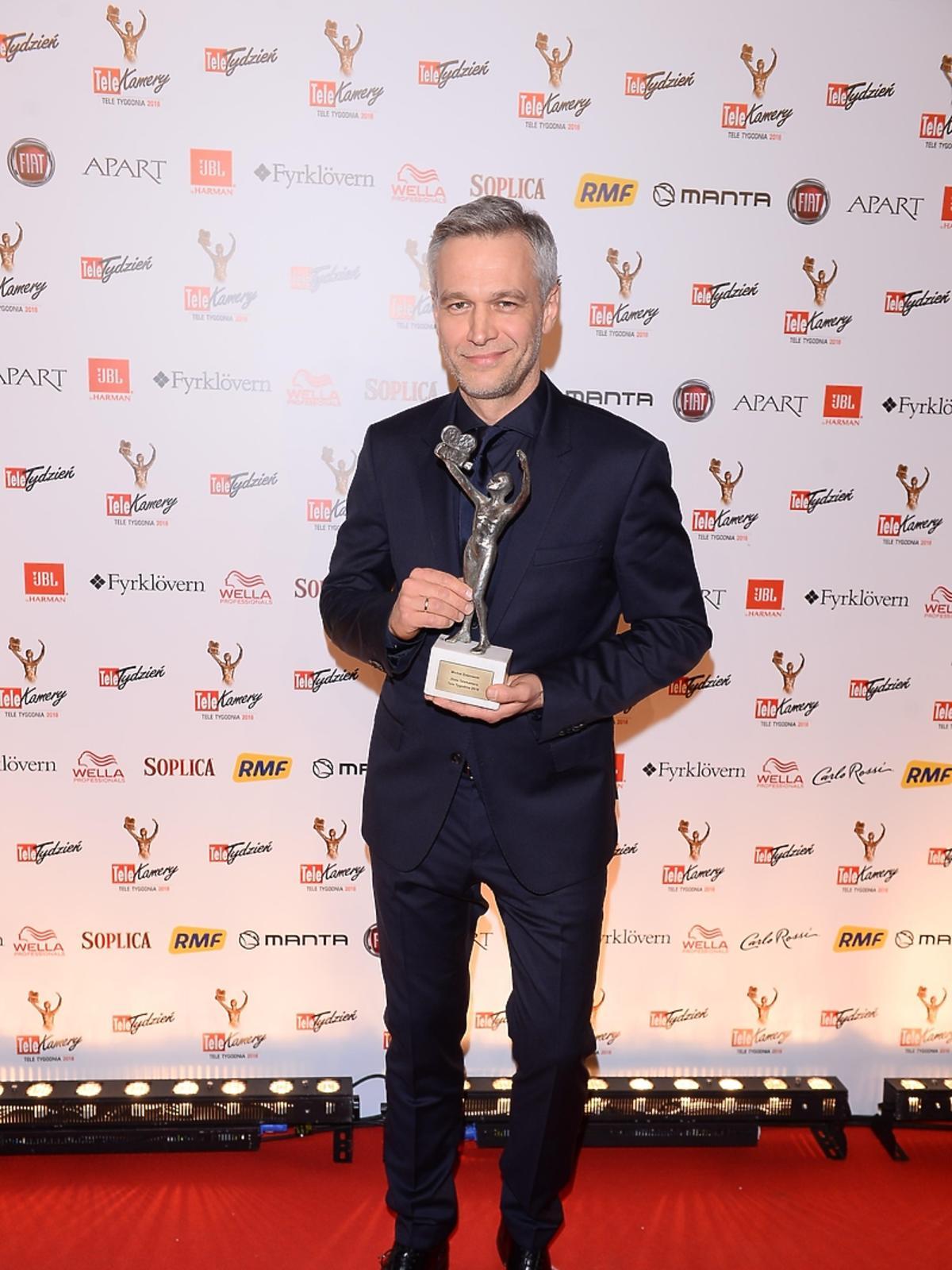Michał Żebrowski z Telekamerą