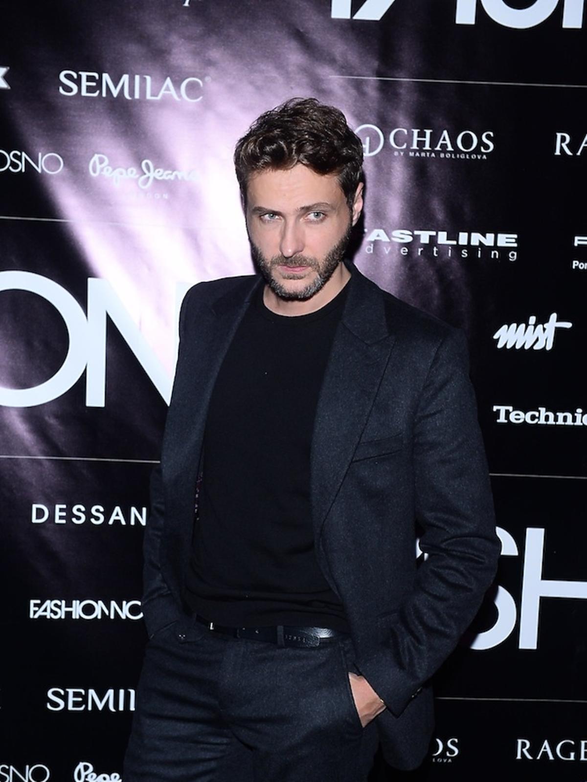 Michał Żurawski na Nagrody Fashion Magazine 2017