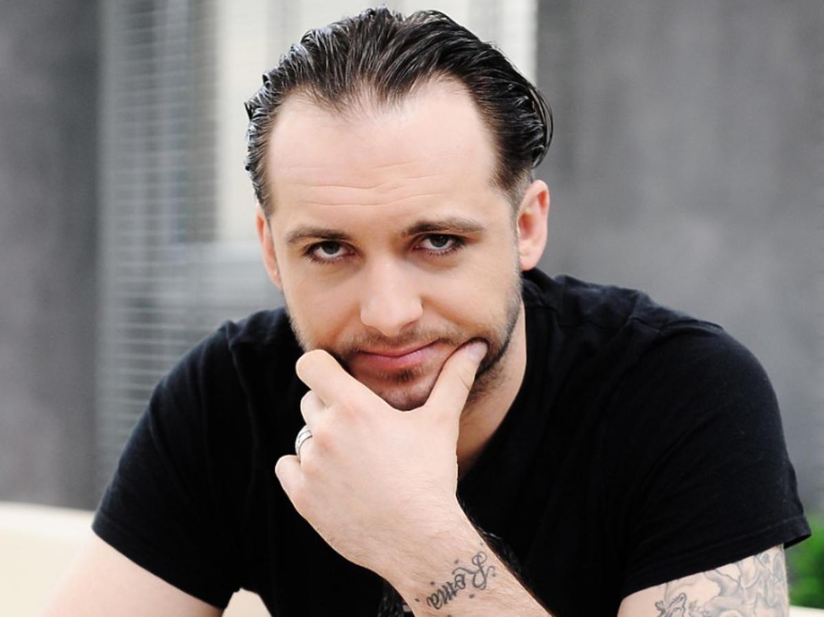 """Michał Żurawski w studiu """"Dzień Dobry TVN"""""""