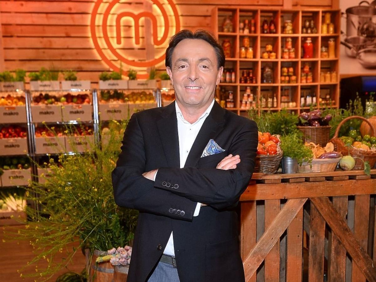 Michel Moran na konferencji MasterChef'a