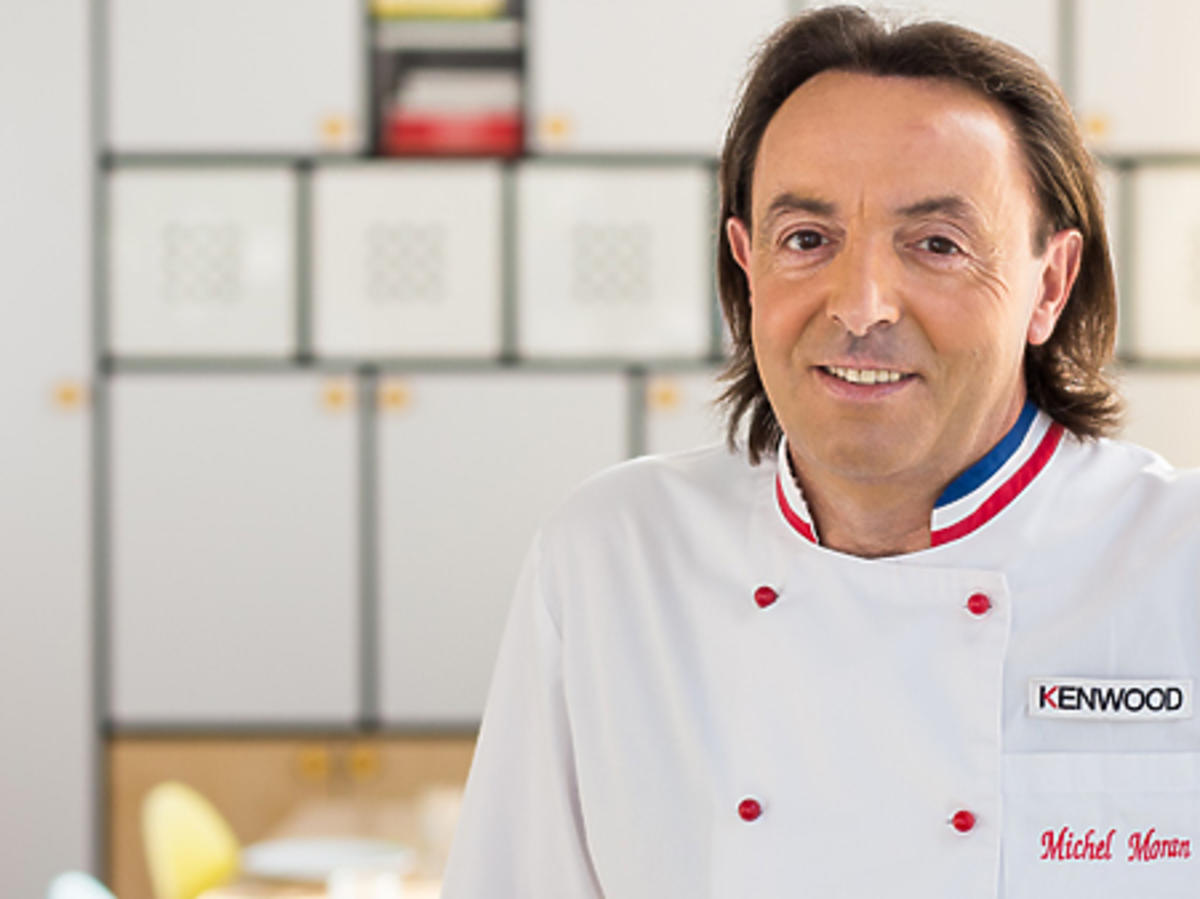Michel Moran w białym fartuchu