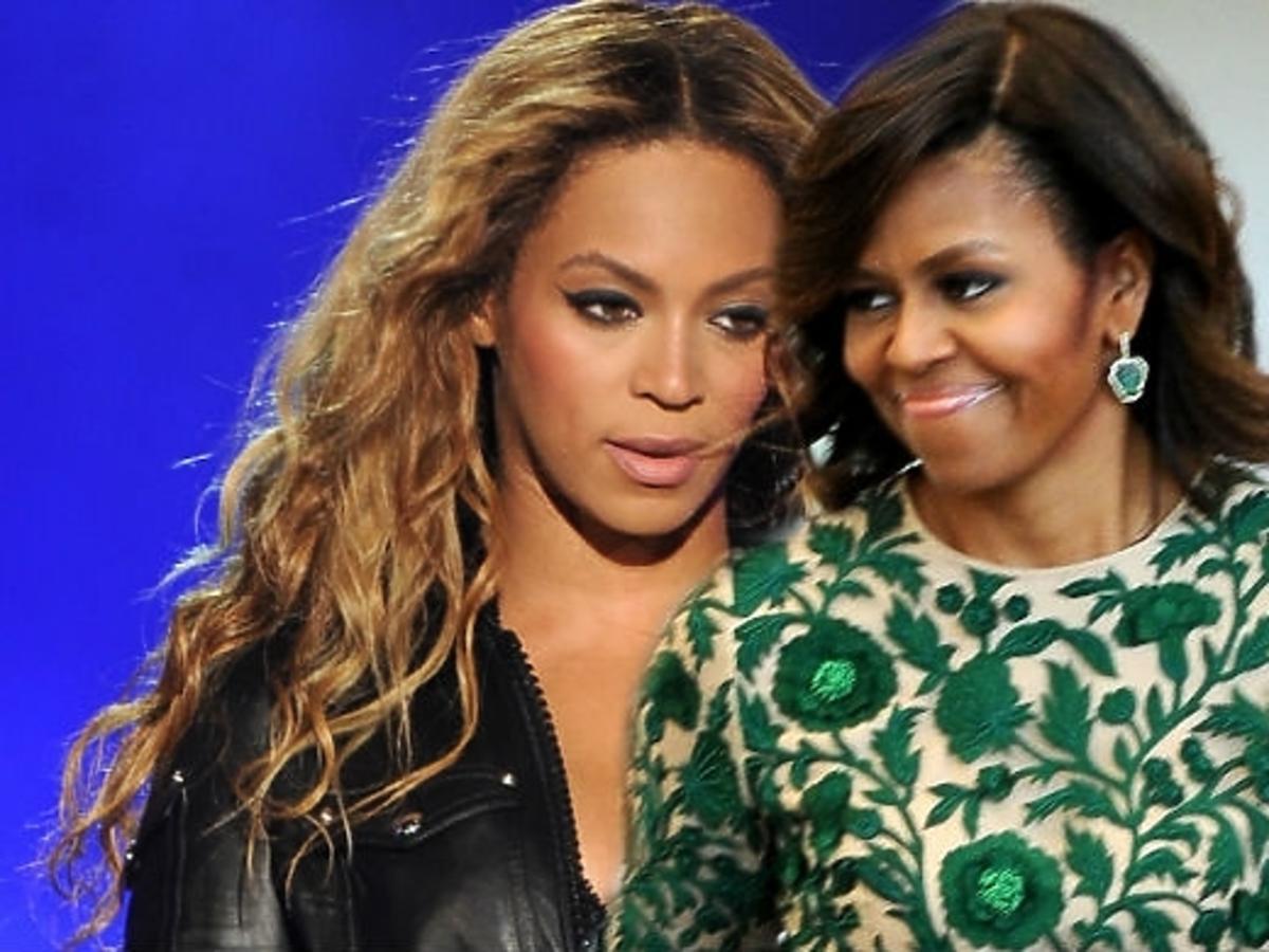 Michelle Obama na koncercie Beyonce