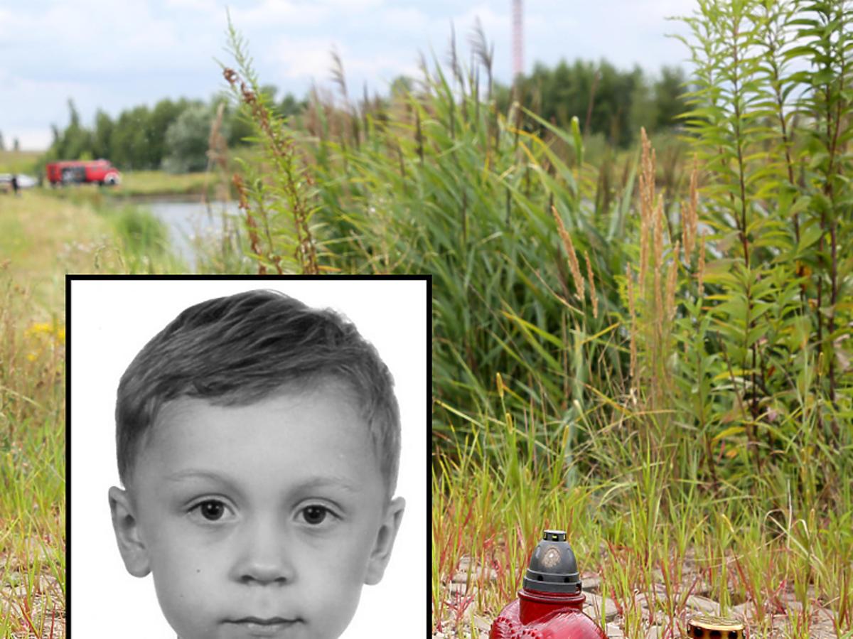 Miejsce odnalezienia ciała 5-letniego Dawida