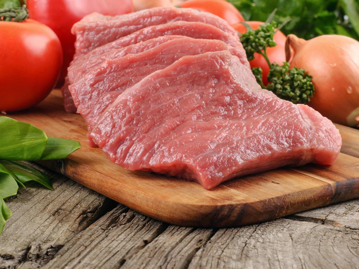 mięso wołowe z warzywami