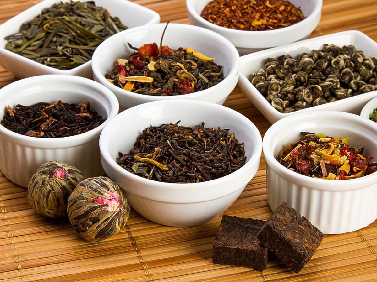 Mieszanki herbat