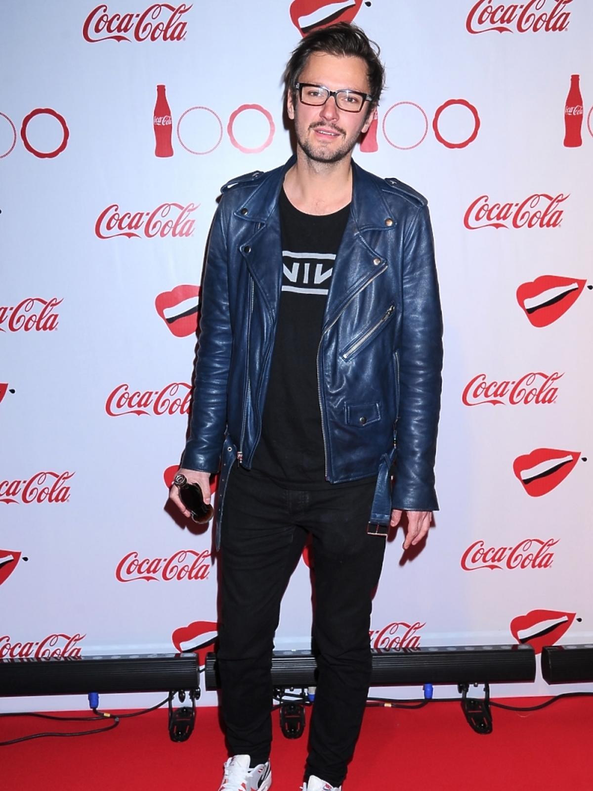 Mikołaj Komar na imprezie Coca-Coli