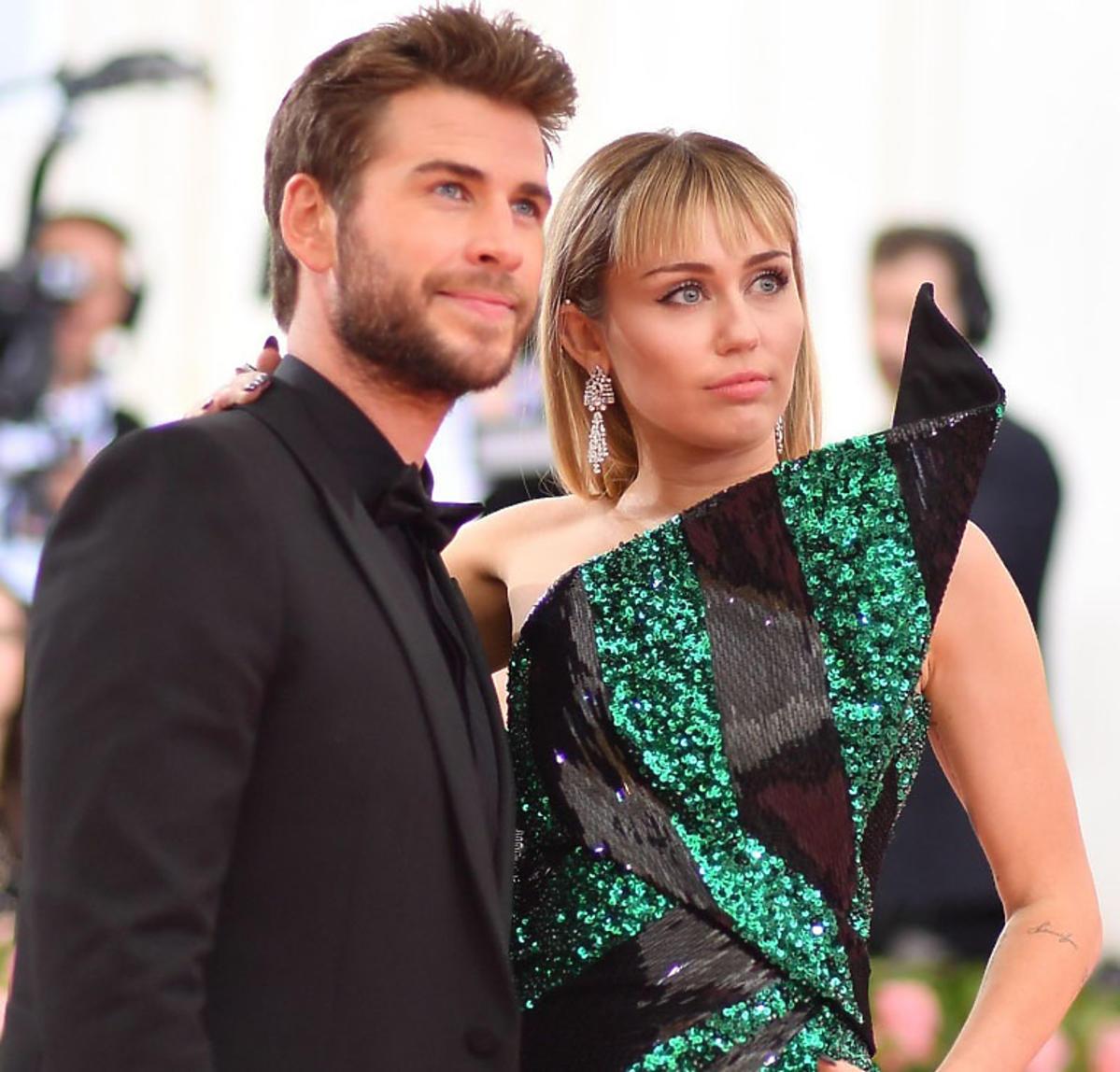 Miley Cyrus, Liam Hemsworth nie są już razem