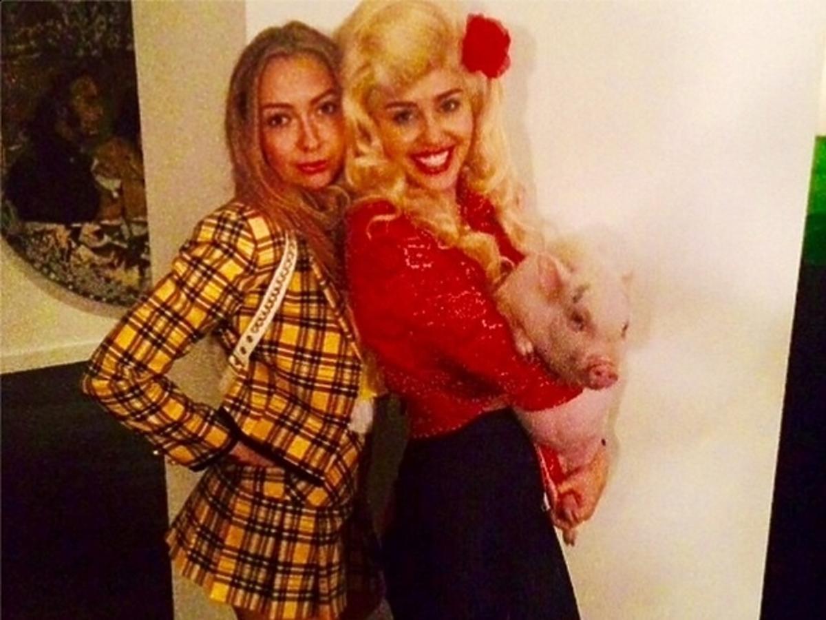 Miley Cyrus na Halloween