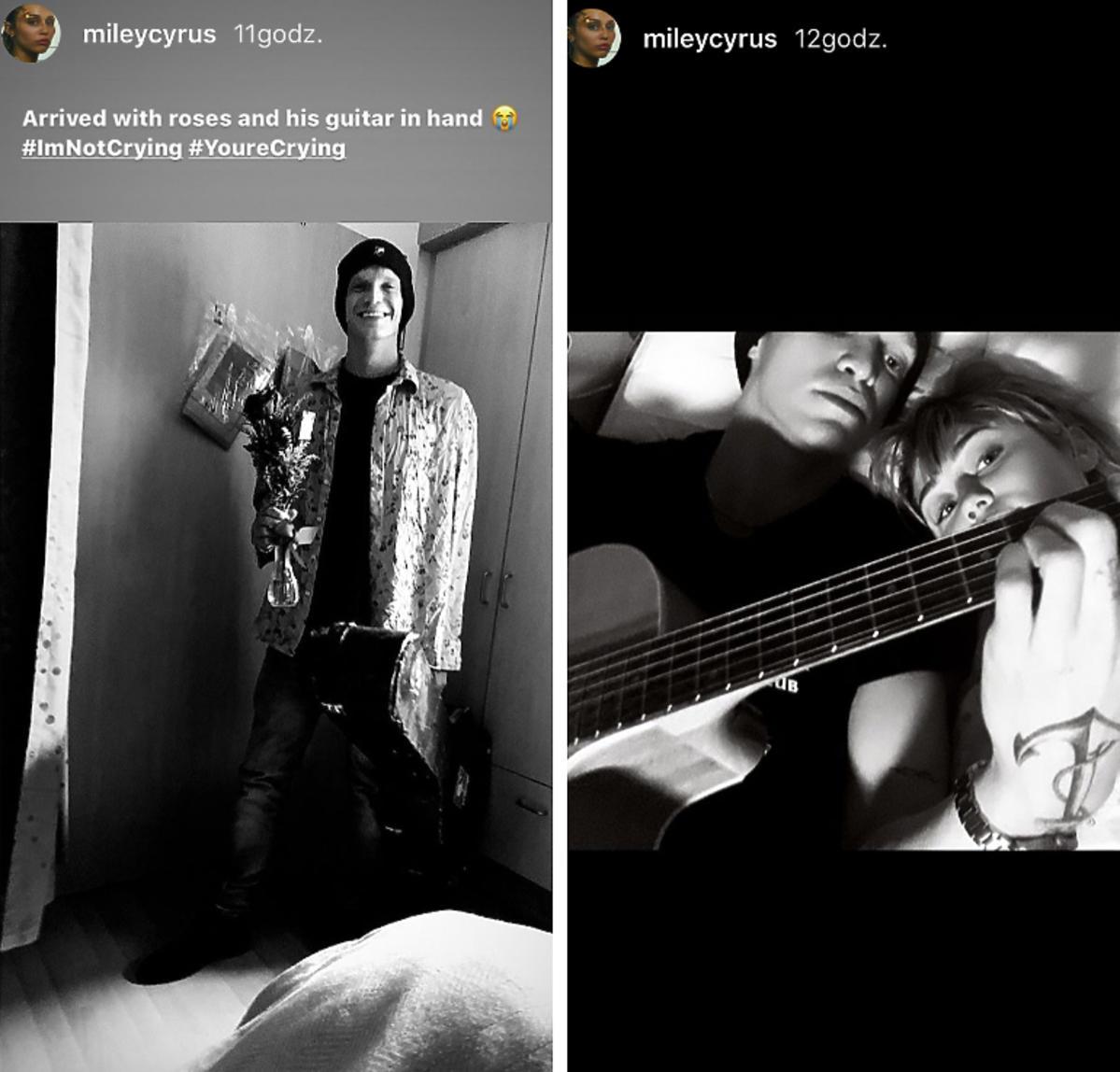 Miley Cyrus z chłopakiem w szpitalu