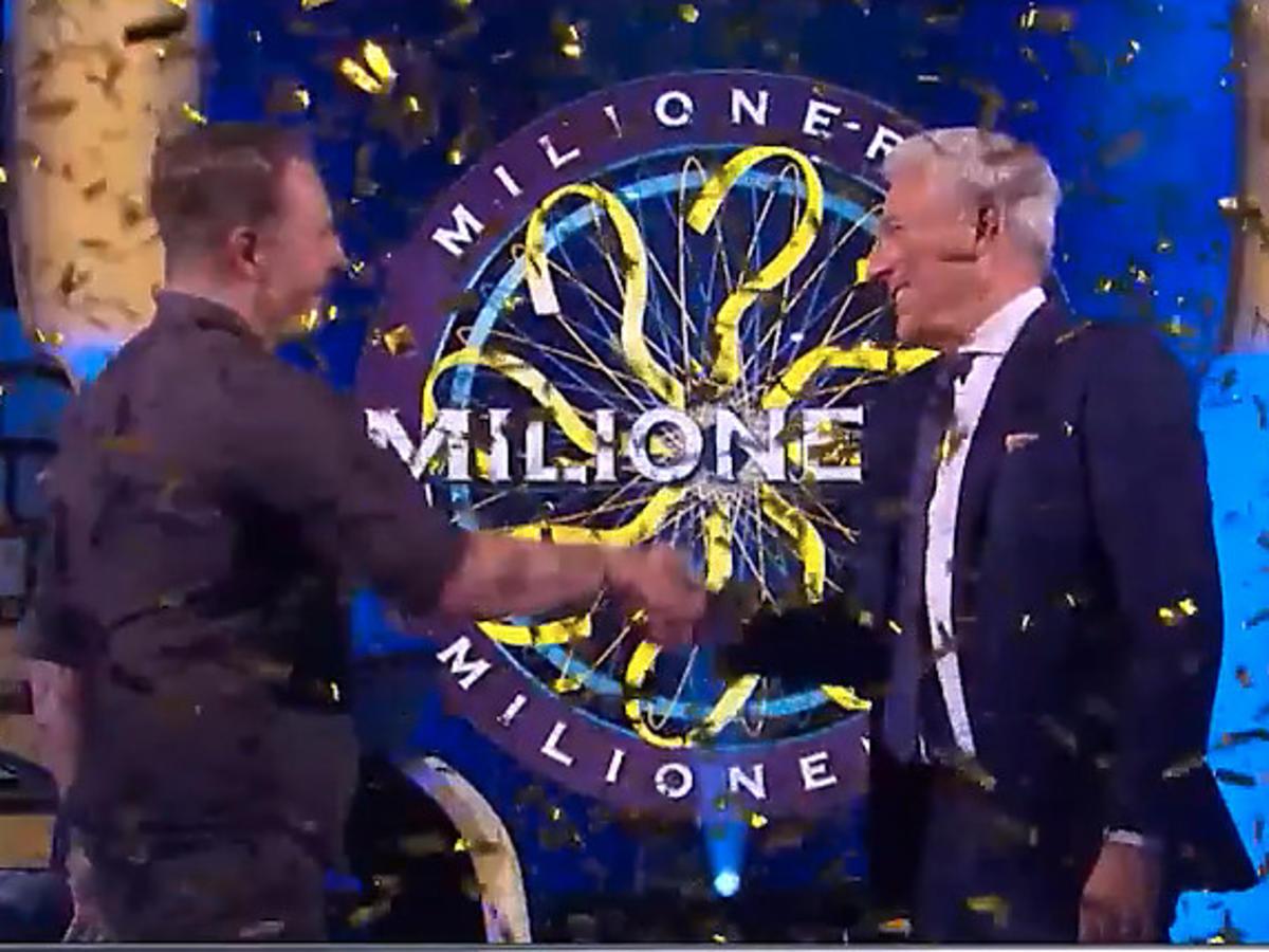 """""""Milionerzy"""" Jacek Iwaszko wygrał milion złotych i Hubert Urbański"""